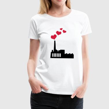 Love producing Plant - Premium-T-shirt dam