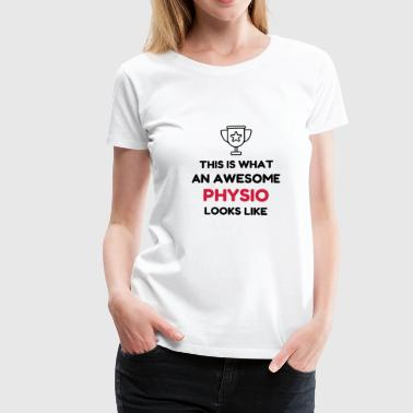 Physiotherapy Physio Krankengymnast Kiné Doctor Mugs & Drinkware - Women's Premium T-Shirt