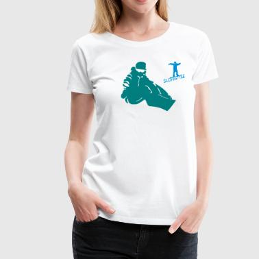slopestyle - Frauen Premium T-Shirt