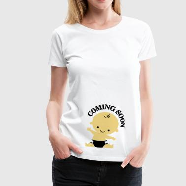 Baby - Coming Soon - Vrouwen Premium T-shirt