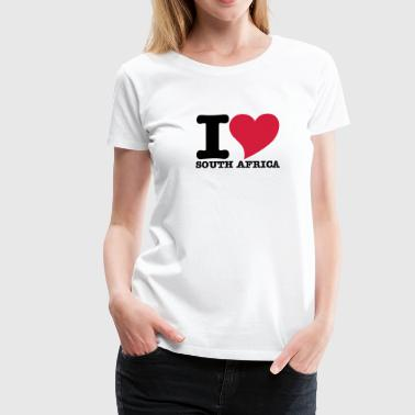 I Love South africa - Women's Premium T-Shirt