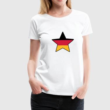 German Star © - Premium-T-shirt dam