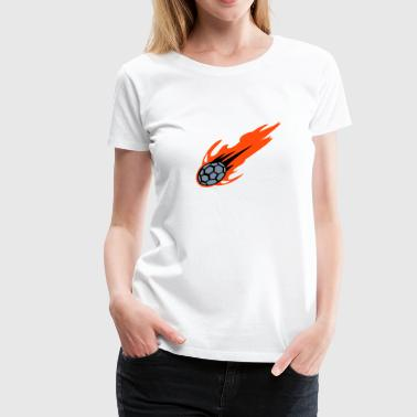 BURNING Handball - Frauen Premium T-Shirt