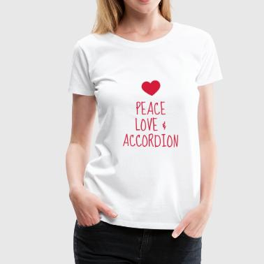 Accordion - Accordionist - Accordéon - Music  - Women's Premium T-Shirt