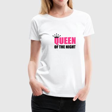 queen of the night - Naisten premium t-paita