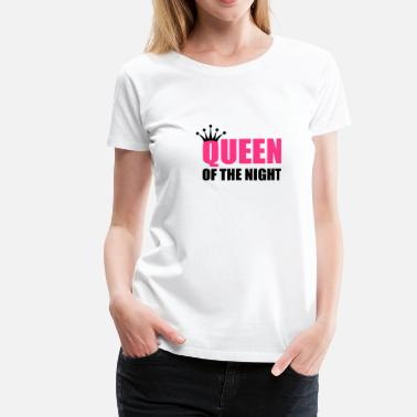Malia queenofthenight1 - Women's Premium T-Shirt