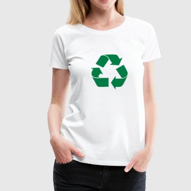Recycling - Frauen Premium T-Shirt