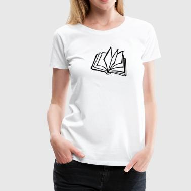 Book - Women's Premium T-Shirt