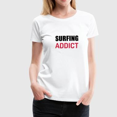 surf / surfista / tablista / surfing - Camiseta premium mujer