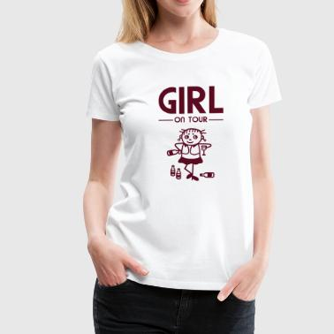 Girl on Tour - Party - Frauen Premium T-Shirt