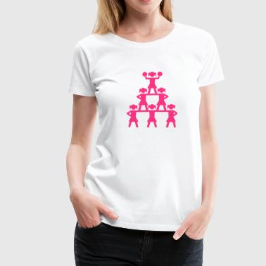 Cheerleader - Frauen Premium T-Shirt