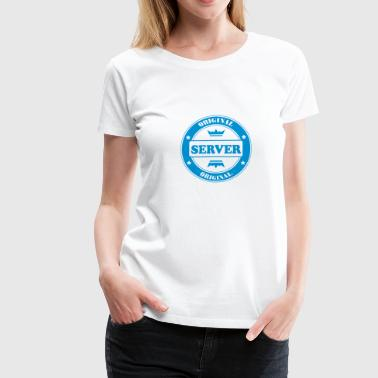 Original server - Vrouwen Premium T-shirt