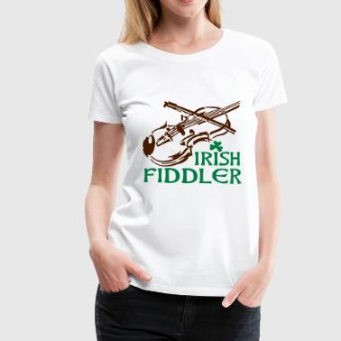 fiddler - Women's Premium T-Shirt