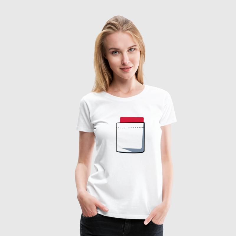 Attention carton - T-shirt Premium Femme