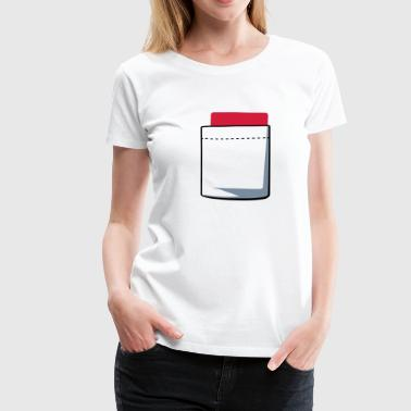Red Card - Women's Premium T-Shirt