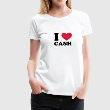 cash - Frauen Premium T-Shirt