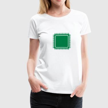 integrated microcircuit_m1 - Women's Premium T-Shirt