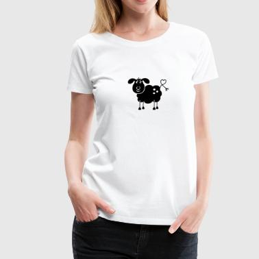 Black Sheep - Premium T-skjorte for kvinner