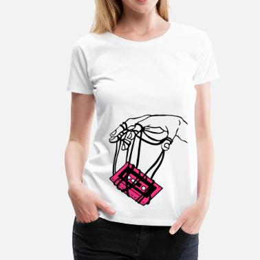 hand & tape - Frauen Premium T-Shirt