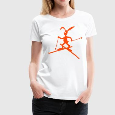 skihase - Frauen Premium T-Shirt