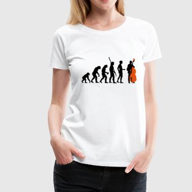 evolution_bass_2c - Women's Premium T-Shirt