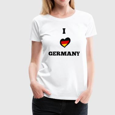Germany Fan World Championship - Women's Premium T-Shirt