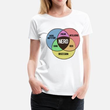 Spacko NERD SHIRT - Frauen Premium T-Shirt
