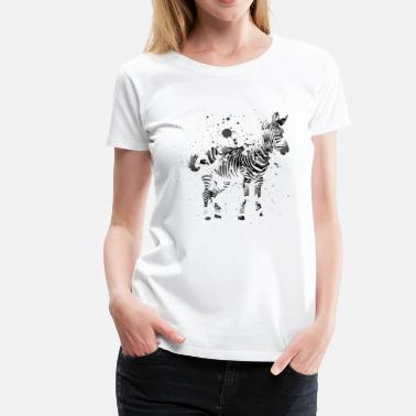 Animal Collection zebra - Women's Premium T-Shirt