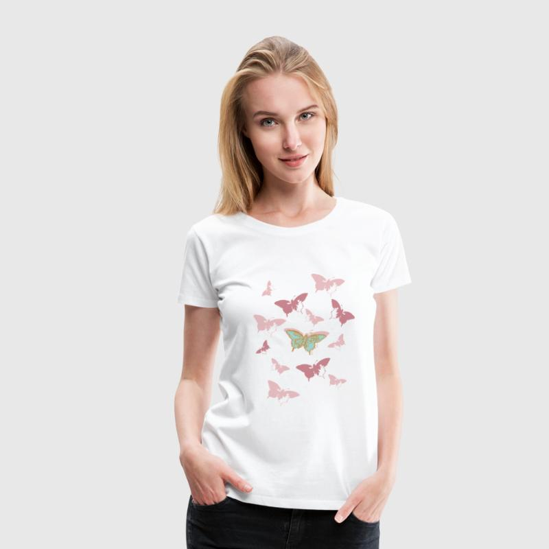 Animal Planet Butterfly Swarm - Premium-T-shirt dam
