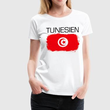 Tunisien Cadeau de fan de football tunisien - T-shirt Premium Femme