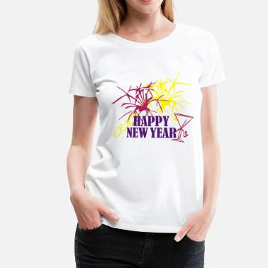 Silvester Party Silvester - Frauen Premium T-Shirt