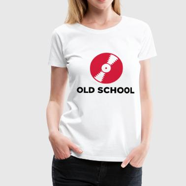 Old School Music - Women's Premium T-Shirt