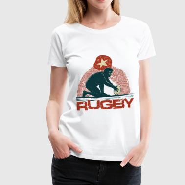 rugby - T-shirt Premium Femme