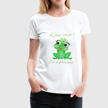 frog princess - Frauen Premium T-Shirt