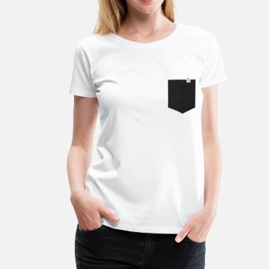 Led Kinder Leder Optik - Frauen Premium T-Shirt