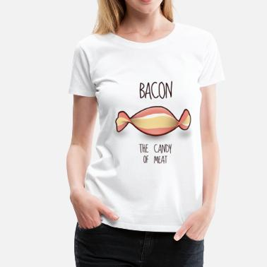 Speck Bacon - Frauen Premium T-Shirt
