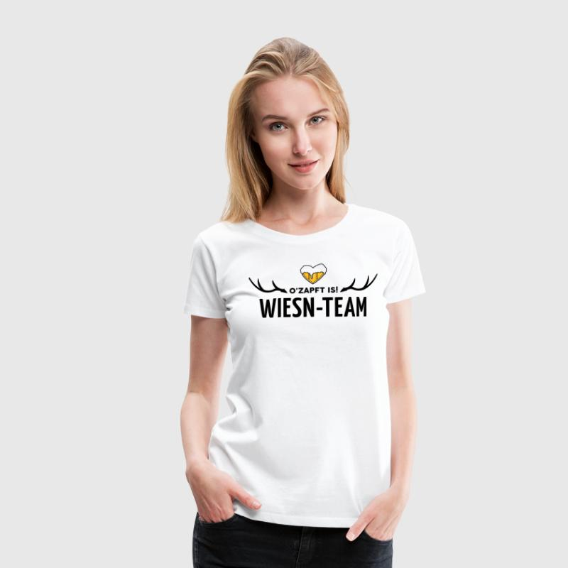 Wiesn Team, Oktoberfest - Frauen Premium T-Shirt