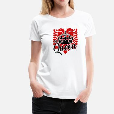 Albanian Eagle Albanian eagle for an albanian queen - Women's Premium T-Shirt