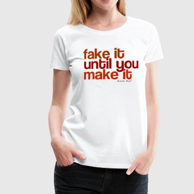 Fake - Women's Premium T-Shirt