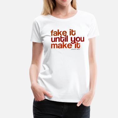 Faking Fake - Women's Premium T-Shirt