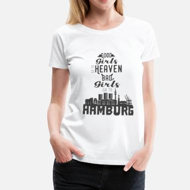 Hamburg City Girl Hamburg Girls - Frauen Premium T-Shirt