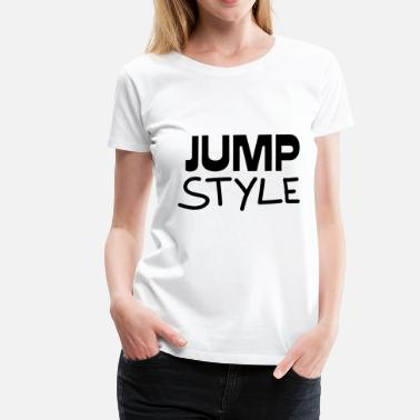Jumpstyle Jumpstyle gave - Premium T-skjorte for kvinner