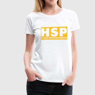 HSP - Frauen Premium T-Shirt