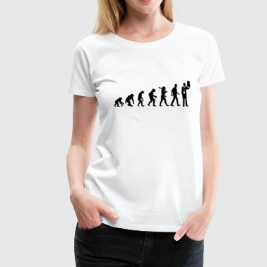 Evolution of Doctors - Frauen Premium T-Shirt
