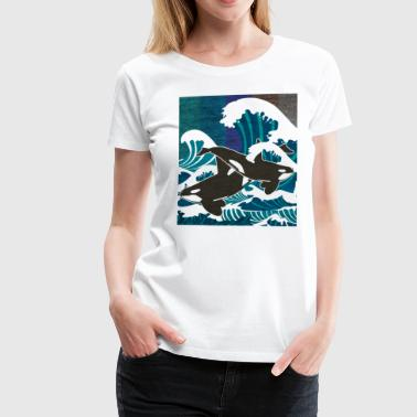 Orca Animal Orca Whale Zoo Gift - Women's Premium T-Shirt