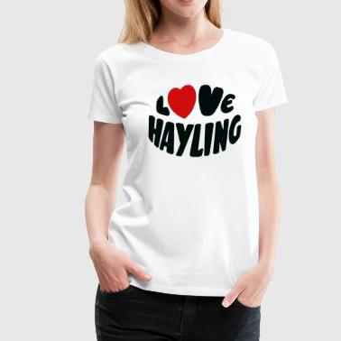 Love Hayling Island - Women's Premium T-Shirt