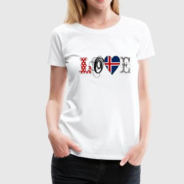 Love Island Black - Frauen Premium T-Shirt