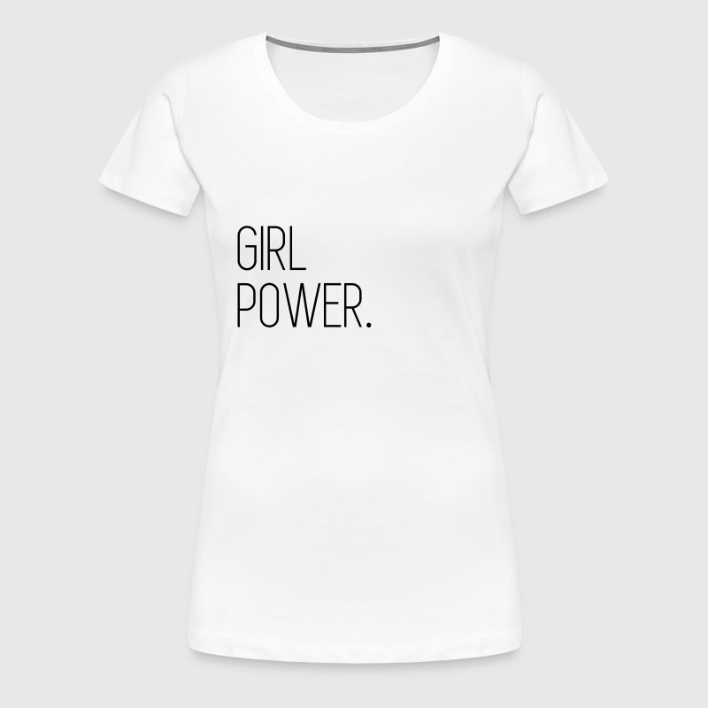 Girl Power - Vrouwen Premium T-shirt