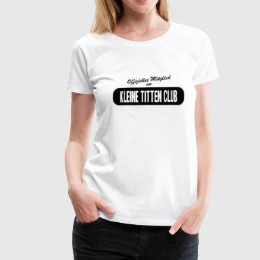 Small tits club - Women's Premium T-Shirt
