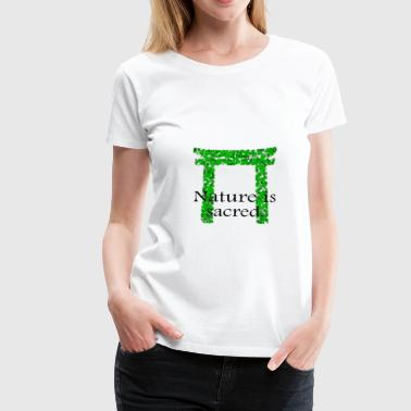 Shinto Torii Nature 2 - Frauen Premium T-Shirt